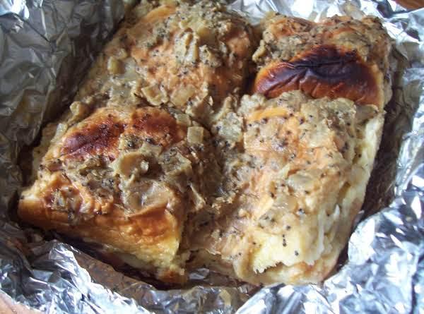 Ham, Swiss & Onion Sliders Recipe