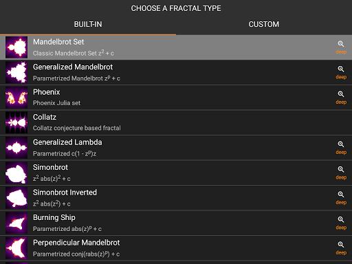MandelBrowser screenshots 14