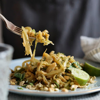 Lightened Up Pad Thai for Two.
