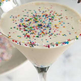 Sugar Cookie Martini.