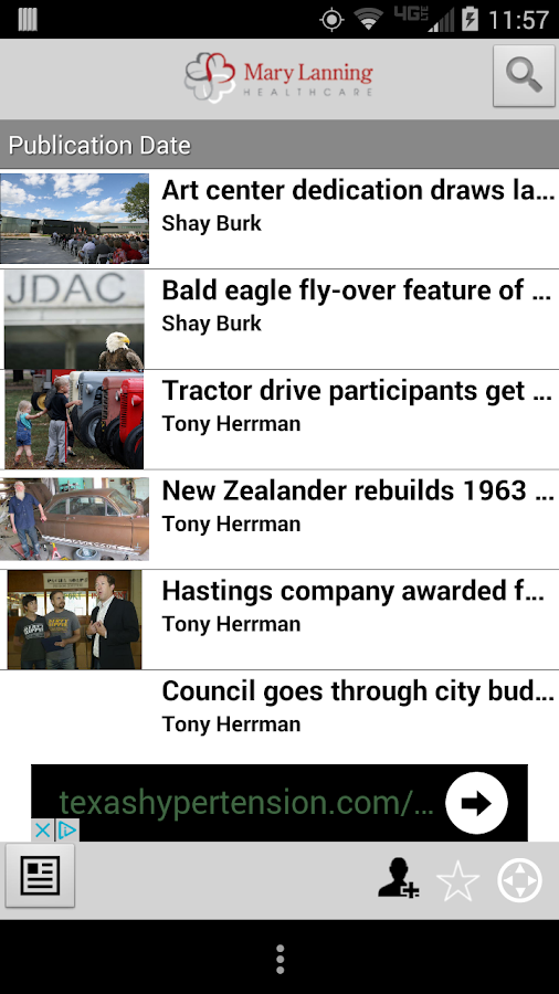 Hastings Tribune- screenshot