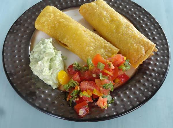 Leftover Turkey Taquitos Recipe