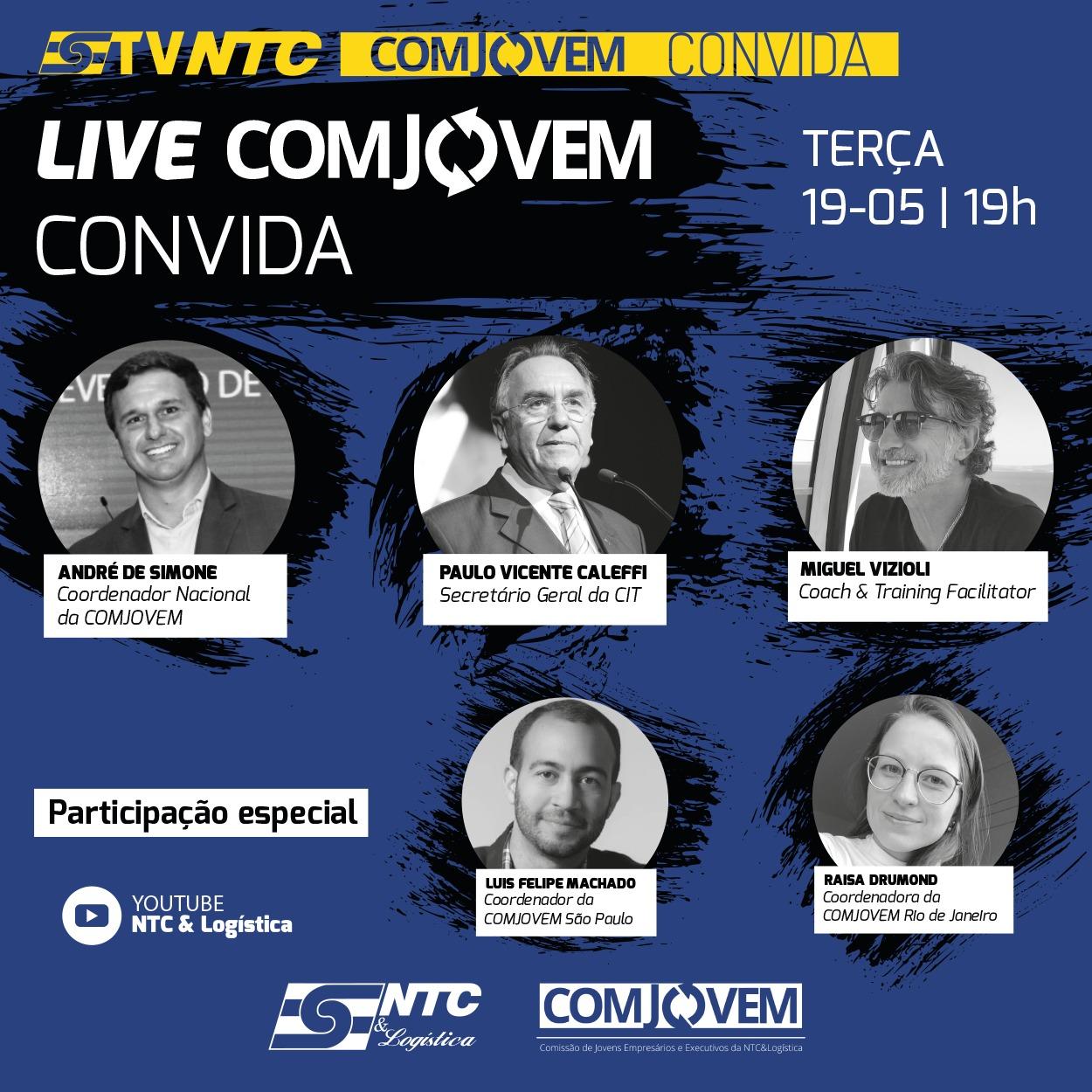 TV NTC apresenta hoje mais uma edição da Pesquisa de Impacto no TRC e COMJOVEM Convida