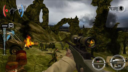 Mountain Sniper Shooting: 3D FPS  screenshots 7