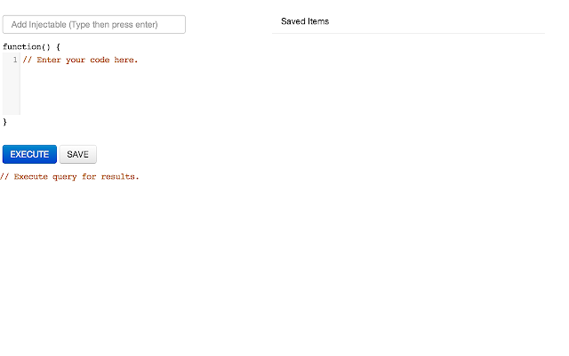 AngularJS Console chrome extension