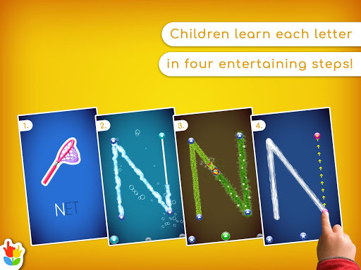 LetterSchool - Learn to Write ABC Games for Kids apkpoly screenshots 14