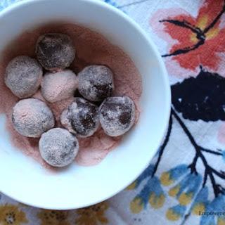 Two Ingredient Paleo Truffles.