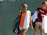 Alison Van Uytvanck en Kirsten Flipkens zij aan zij naar kwartfinales dubbelspel