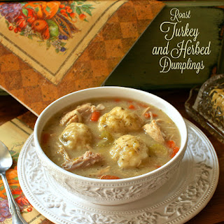 Roast Turkey & Herbed Dumpling Stew Recipe