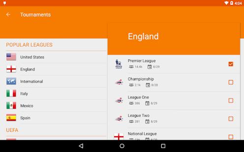 Sporee - Live Soccer Scores- screenshot thumbnail