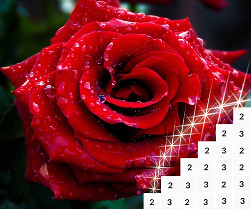 Coloring Flowers Pixel Art Game screenshots apkshin 1