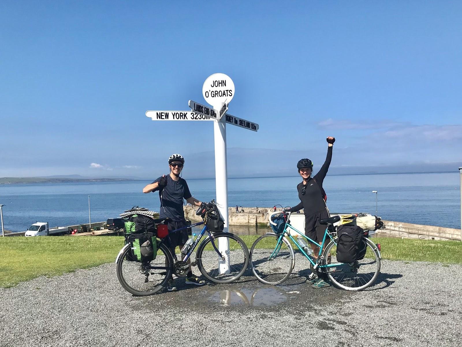 biking through britain