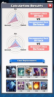 Counter Deck Generator for Clash Royale - náhled