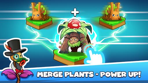Merge Plants: Zombie Defense apkpoly screenshots 3