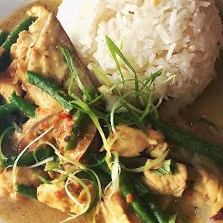 Easy Thai Coconut Curry Chicken.