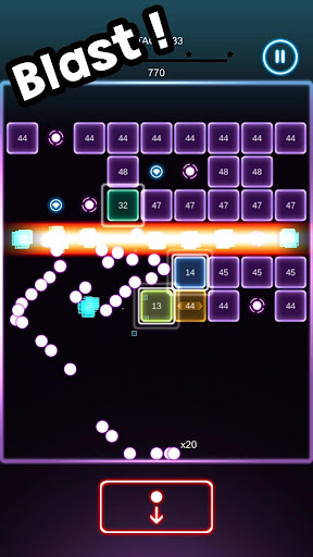 Swipe Brick Blast screenshot 3