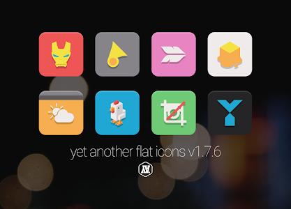 YAFI yet another flat icons v1.7.6