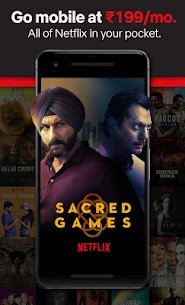 Netflix Premium Mod Apk Latest Version For Android 1
