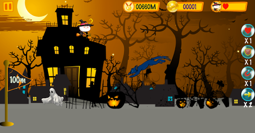 Halloween Witch Adventure