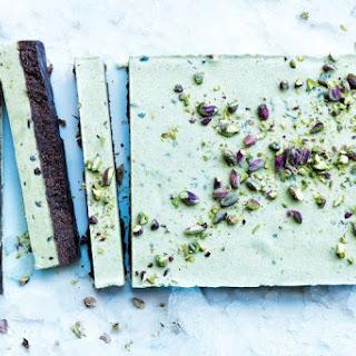 The Pistachio And Cacao Ice Cream Cake