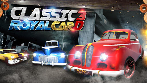 Classic royal car 3d