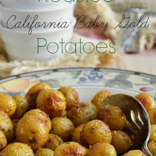 Roasted California Baby Gold Potatoes.