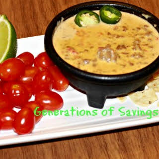 Velveeta Cheese Dip With Cream Of Mushroom Soup Recipes.