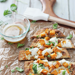 Roasted Sweet Potato and Brown Butter Flatbreads