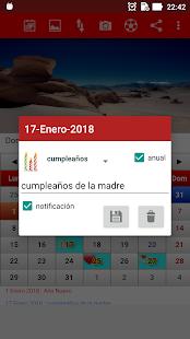 Chile Calendario 2018 - náhled