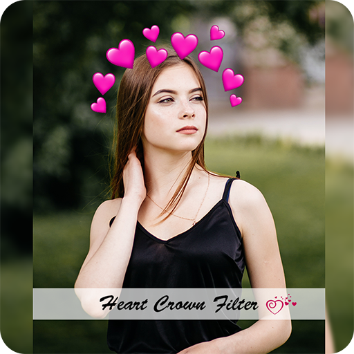 Heart Crown Cute Live Face Maker & Photo Editor HD