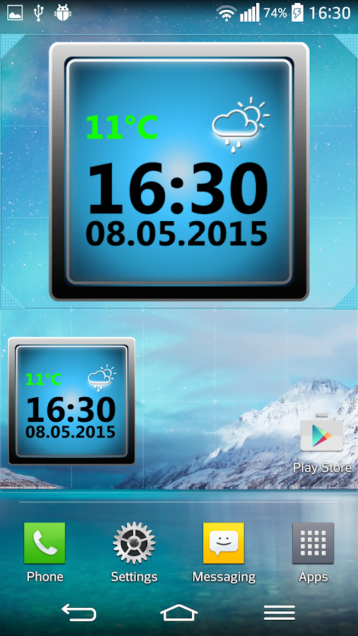 Night Stand Weather Clock Android Apps on Google Play
