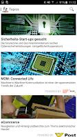 Screenshot of futurezone