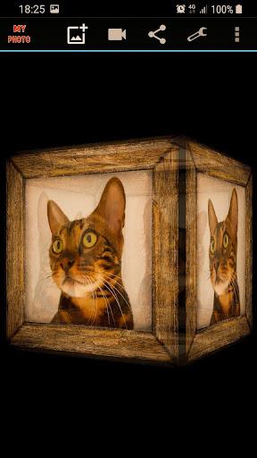 Mein Foto in 3D Live Wallpaper Screenshots 3