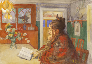 "Photo: Carl Larsson, ""Karin che legge"" (1904)"