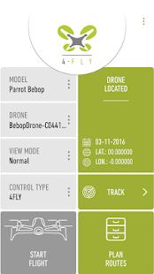 4FLY drone Parrot Bebop, 3DR - náhled