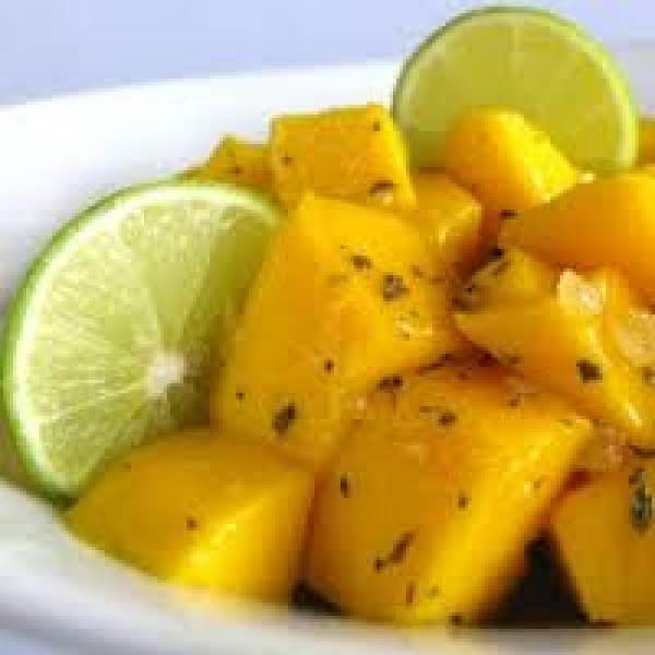 Ginger-lime Mangoes Recipe