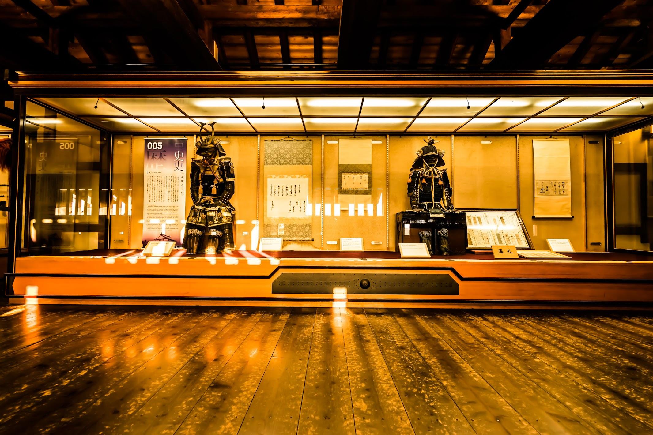 Matsuyama Castle exhibit