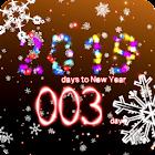 New Years countdown 2019 premium icon
