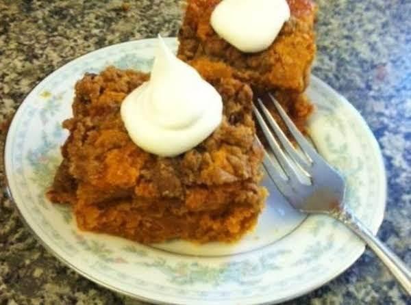 Easy Buttery Pumpkin Pie Crunch Dessert