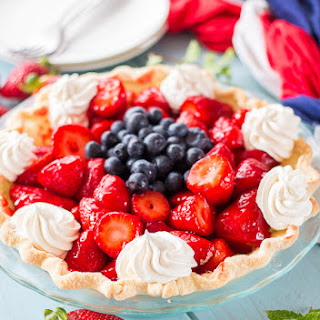 Easy Strawberry Pie.