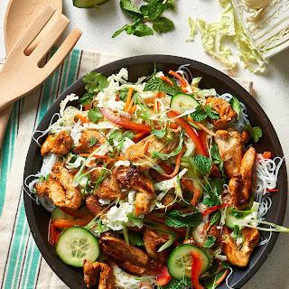 Vietnamese-Style Chicken & Noodle Salad.