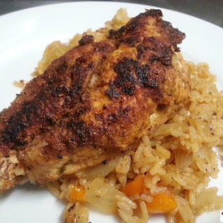 Cajun Chicken Breasts and Spicy Rice new