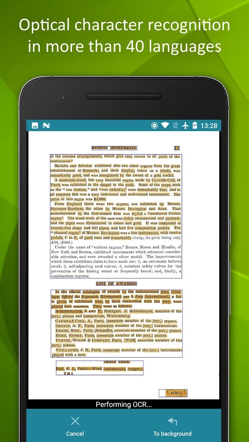 Smart Doc Scanner: Free PDF Scanner App Screenshot 3