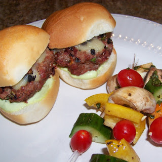 Sun Dried Tomato and Ground Beef Sliders