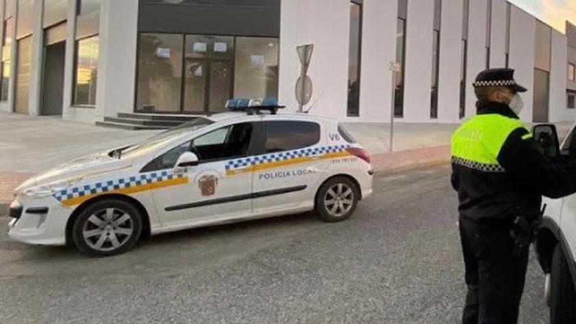 Policía Local en una fotografía de archivo.