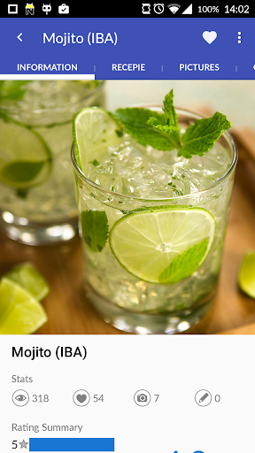 Cocktails Guru (Cocktail) App Screenshot