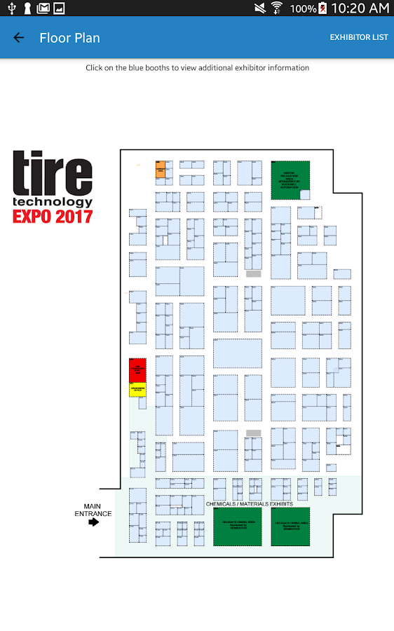 Tire Technology EXPO- screenshot