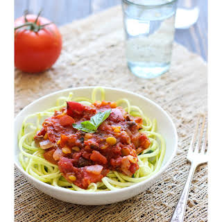 Immunity-Boosting Tomato Sauce with Mushrooms.
