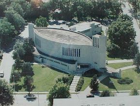 """Photo: The """"Fish Church"""" won many architectural awards over the years, since its dedication in 1949."""