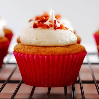Maple Bacon Cupcakes.